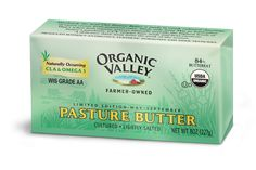 Pasture Butter - Totally Organic - loaded with CLA.Your weekly purchase of 8 oz Salted Cultured Pasture Butter prevents the following annually:  21 lbs Synthetic Nitrogen Fertilizer  4.5 oz Synthetic Herbicides & Pesticides