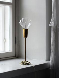 DIAMOND LAMP  |  TIMANTTILAMPPU VINTAGEJALASSA