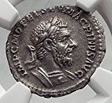 MACRINUS 217AD Rome Authentic Ancient AR Roman Coin FELICITAS NGC XF i62053 Old Coins, Rare Coins, Numismatic Coins, Successful Home Business, Roman Republic, Coin Collecting, Romans 2, Greeks, Ancient Rome