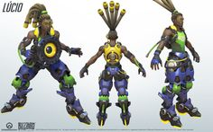Lucio Cosplay Reference Guide #3 - Overwatch