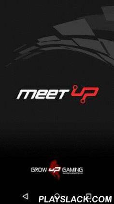 MeetUp  Android App - playslack.com , Para que os fãs de gaming possam ter toda a informação dos eventos Meet uP, a Associação Grow uP Gaming volta a apostar nas novas tecnologias e renovou a sua parceria com a Widebit.DestaquesFicarás a par de todos os desenvolvimentos em tempo real, sobre os locais dos eventos, bilhetes, FAQ's, datas de inscrição, como chegar, parcerias fechadas, torneios a decorrer e outras informações de relevância.CalendárioProgramação por dias e locais, dos principais…