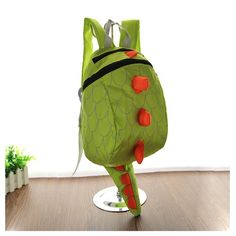 Toddler Kids Child Cute Cartoon Dinosaur Animal Nursery Kindergarten Preschool Backpack Snack Toys Books Zoo Park Shoulder Bag Outdoor Carrier Daypack Travel Zipper Rucksack Satchel. HOT New Fashion Lovely Dinosaur Cartoon Animal Style Backpack for Unisex kids Baby Girls&Boys 1-4 years old. Fall in love with this backpack deeply. Top quality Nylon material, sturdy&waterproof, stain-resistent, exquisite workmanship and nice stitching, durable enough for long lasting performance use....