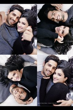 Parineeti chopra and sidharth malhotra  Filmfare