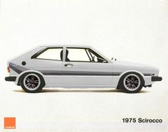 1975 Scirocco beauty. I had one in green lost after a particularly heavy weakend clubbing forgot where I left it !!!