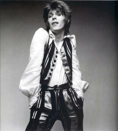 Bowie's music and style will always make me smile.