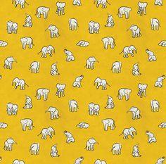 indian baby elephants Art Print