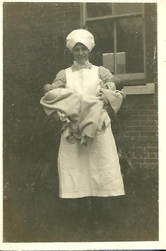 Nurse/Midwife with Twins My mother was delivered, at home, by a midwife back in 1947.  She is half of a set of identical twins, and was breech.