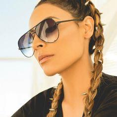 fashion flat top glasses Black gradient women's sunglasses 2017 brand designer oculos aviador mirror shades sun glasses female Sunglasses 2017, Pink Sunglasses, Mirrored Sunglasses, Sunglasses Women, Sunnies, Vintage Sunglasses, Black Aviator Sunglasses, Sunglasses Online, Desi Perkins