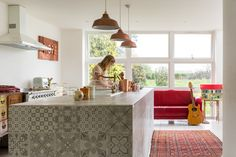 An Amazingly Artistic, Colorfully Patterned UK Home — House Tour
