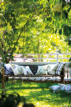 Outdoor living with Harlequin's Jardin Boheme collection
