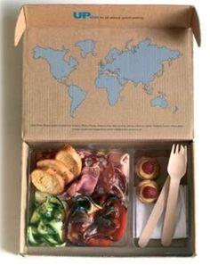 만약 세계지도 부분에 한국 지도 놓고 샐러드 원산지를 원으로 표시 및 원산지 제조자 정보를 넣는다면? Food Inspiration Boxed Gourmet Eats