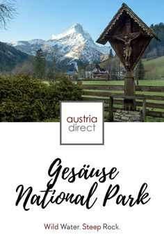 Mountaineers, hikers and kayakers all flock to the newest of Austria's national parks. The Gesäuse National Park in the northern part of Styria was only created in 2002. Find out more about where to go and what to do in the Gesäuse region... #austria #nationalpark #styria #steiermark #gesäuse Steep Rock, Wild Waters, Alpine Meadow, Nature Reserve, Where To Go, Austria, Waterfall, National Parks, River