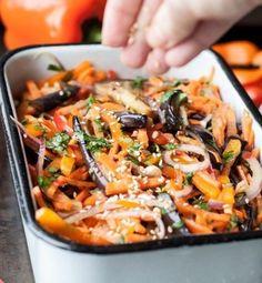 САЛАТ ХЕ ИЗ БАКЛАЖАНОВ | Самые вкусные кулинарные рецепты