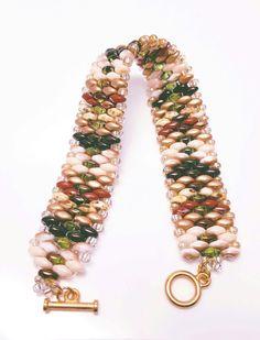 Snake Back Super Duo Bracelet