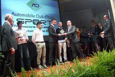 Serata di gala a Taormina per le premiazioni ACI Sport 2015