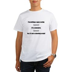 Western Spec Script - humor T-Shirt