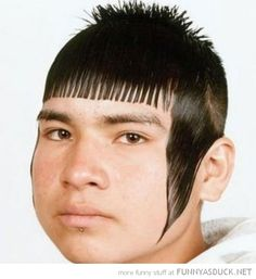 This is my next haircut. I swear it's the most flattering look I've ever seen.......20 Major Haircut Fails (Click For Full Post)
