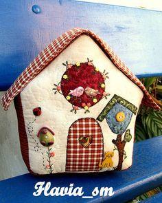 www.casinha peso de porta patchwork imagens - Pesquisa Google