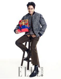 Lee Jin Wook - Elle Magazine December Issue '14