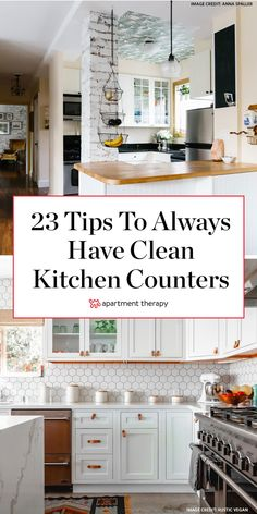 The 23 Smartest Tips to Keep Your Kitchen Counters Cleaner, Forever - Organizing - dream on - Top Decor