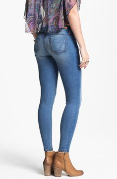 See Thru Soul 'Santiago Bay' Skinny Jeans (Medium) (Juniors) available at #Nordstrom
