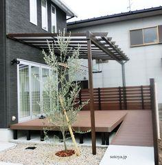 Ideas for covered outdoor patio diy pergolas Ideal Home, Pergola Wood Deck, Garden Room Extensions, Diy Pergola, Canopy Design, House Exterior, Diy Patio, Concrete Stain Patio, Apartment Patio
