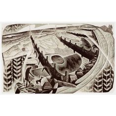 A limited edition Wood Engraving, printed, numbered and signed by the artist Neil Bousfield.