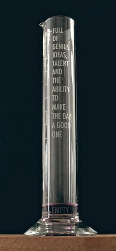 vintage measuring tube  individually etched &  numbered