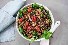 Kung Pao Chicken, Cobb Salad, Cooking Recipes, Ethnic Recipes, Food, Chef Recipes, Essen, Meals, Eten
