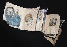 """Libro d'artista   """"Amabili frammenti""""  Ho trovato una conchiglia"""