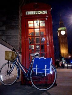 London, near Big Ben #bicycle #travel
