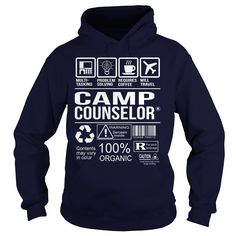 Awesome Tee For Camp Counselor T-Shirts, Hoodies. Check Price Now ==►…