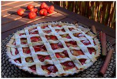 Jahodovo rebarborový koláč   Viva Italia