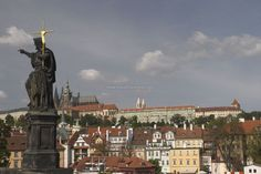 Things to do in Prague - View of the Prague Castle in the background  #czech #castle #europe #prague #church #history #relax #thingstodo #travel #traveltherenext