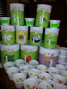 Soup cup samples