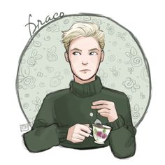Harry Potter + Tea (feel free to use as icons)