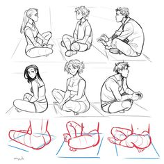 body shapes and postures