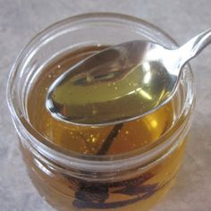 Really want to try some of these!!  Vanilla Infused Honey @ Common Sense Homesteading