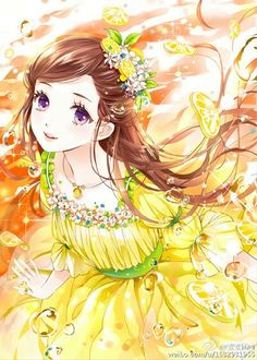 Ieyasu would love to see me in a yellow dress with flowers.