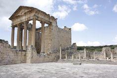 Ruinas de Dougga, Túnez