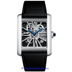 Buy Cartier Tank MC Palladium Watches, authentic at discount prices. Complete selection of Luxury Brands. All current Cartier styles available. Fine Watches, Cool Watches, Watches For Men, Men's Watches, Bracelet Nato, Bracelet Cuir, Cartier Santos, Cartier Tank Mc, Cartier Panthere