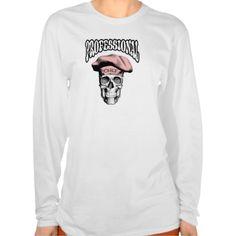 Professional Chef Skull v5 Tshirts
