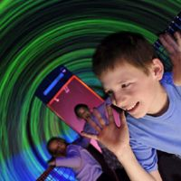 Maze at Navy Pier  $11 for 3 time pass  Children's museum at navy pier is free thursday evening.