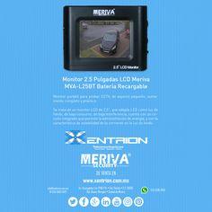 """¿Eres Instalador de CCTV? Adquiere el Monitor 2.5"""" LCD Meriva Security ideal para tus Instalaciones de venta en Xentrion S.A. de C.V. #dianaranja   Contáctanos info@xentrion.com.mx • 01 [55] 5662 6377  WhatsApp: [55] 1536 3103  Visítanos en nuestra Tienda Ubicada en: Insurgentes Sur 1768 P.B. • Col. Florida • Cp. 01030 • Del. Alvaro Obregón • Ciudad de México  www.xentrion.mx"""