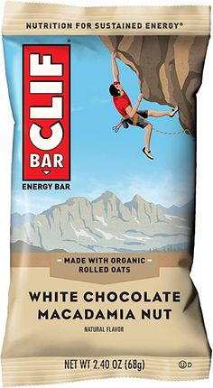 CLIF BAR - Energy Bar - White Chocolate Macadamia - Ounce Protein Bar, 12 Count) -- To view further for this item, visit the image link. (This is an affiliate link) White Chocolate Macadamia, Coconut Chocolate, Chocolate Wafers, Healthy Snack Bars, Clif Bars, Good Sources Of Protein, Nutrition, Plant Protein, Energy Bars