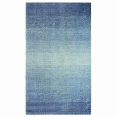 Distressed Ombre Striped Rug