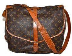 Louis Vuitton Lv Saumur Cross Body Bag
