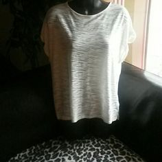 Really Cute Forever 21 Top! See through fabric! Cut out back! Good Condition! Forever 21 Tops