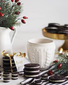 Reb's kitchen | Christmas edition: Homemade Oreo | fresshion
