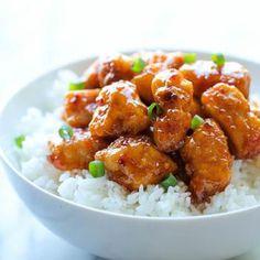Firecracker Chicken- very very good, make extra sauce next time.
